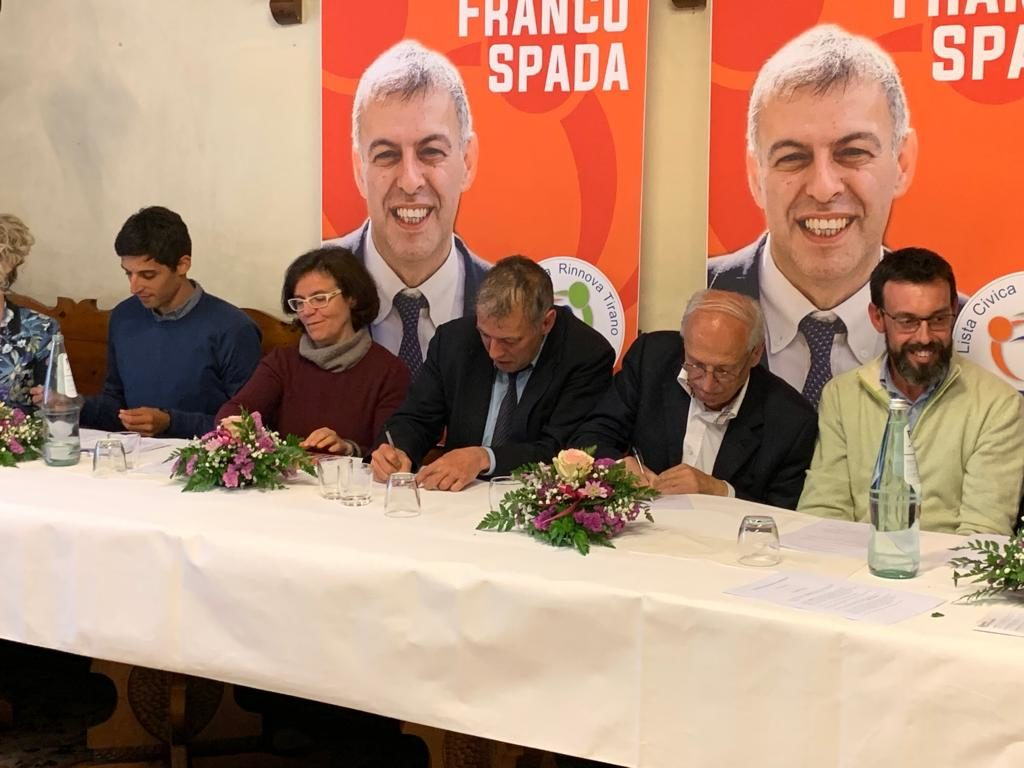 Firma del codice etico dei candidati